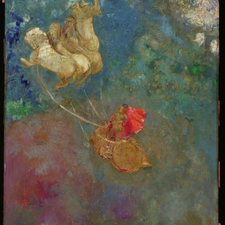 The Chariot of Apollo, by Odilon Redon, Astrology Tara Greene