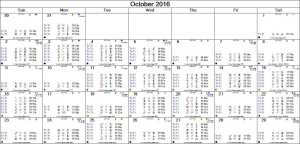 2016-10 Monthly Marsout